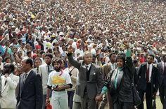 Nelson Mandela's release (1990) - Udo Weitz/AP