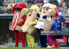 hot dog mascots and baseball - Google Search