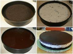 Cheesecake cu oreo6 Oreo, Cheesecake, Pudding, Cakes, Desserts, Food, Cheesecake Cake, Flan, Postres