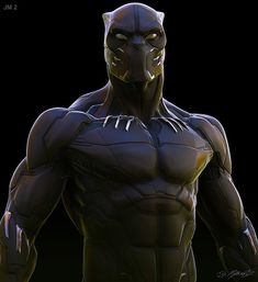 Got to do a few design options for Black Panther. I was put on the film for a few weeks while I was on Avengers: Infinity War. Very grateful to the team at Marvel and Ryan Meinerding for bringing me on board. Marvel Concept Art, Concept Art World, Marvel Art, Marvel Heroes, Black Panther Images, Black Panther Art, Black Panther Marvel, Black Art, Comic Book Characters