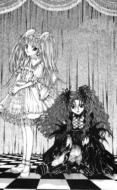 """Art from """"Count Cain"""" series by manga artist Kaori Yuki."""