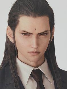 Final Fantasy Collection, Final Fantasy Characters, Final Fantasy Vii Remake, Fantasy Series, Fantasy World, Fantasy Pictures, Hisoka, Cute Anime Guys, Cloud Strife