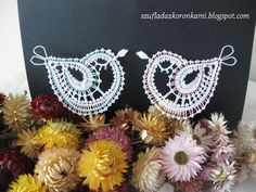 Bobbin Lace, Crochet Earrings, Textiles, Birds, Inspiration, Lace, Blue Prints, Craft Work, Biblical Inspiration