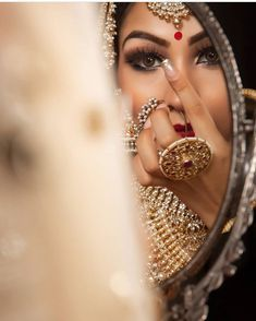 Presently there reallycertainlycan be a few things out of your big day that are likely to las. - Wedding Jewelry Ideas For Bride Indian Bridal Portrait Poses, Bridal Poses, Bridal Photoshoot, Wedding Poses, Bridal Shoot, Desi Wedding, Wedding Shoot, Indian Wedding Couple Photography, Bride Photography