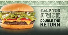 Today @sonicdrivein  All Cheeseburgers are 1/2 price in honor of Tax day! #Sonicgood