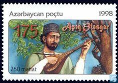 Postage Stamps - Azerbaijan [AZE] - Cultural celebrities