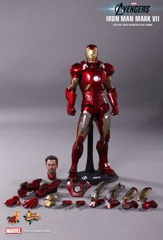 Hot Toys : The Avengers - Mark VII 1/6th scale Limited Edition Collectible Figurine