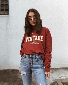 Best Vintage Outfits Part 32 Fall Outfits, Casual Outfits, Cute Outfits, Vintage Outfits, Vintage Fashion, 90s Fashion, Fashion Outfits, Womens Fashion, Thalia