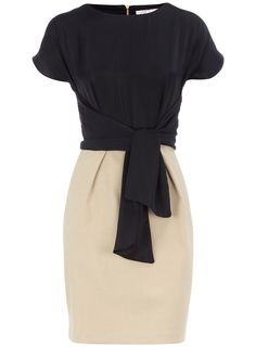 Navy 2 in 1 dress - View All - Dresses - Dorothy Perkins United States
