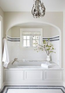 New Traditional Family Residence - traditional - bathroom - chicago - by Molly Quinn Design