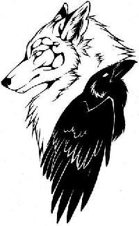 The crow And the Wolf, le corbeau et le loup