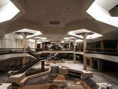 Retail Ruin Porn: Exploring the Haunting Architecture of Ghost Malls