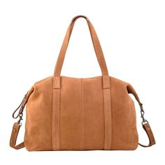 Fall Of Hearts Nubuck Leather Bag in tan. Made of soft Nubuck leather and with a no fuss attitude. This generously proportioned bag is perfect for everyday use. Tan Handbags, White Purses, Brown Bags, Everyday Bag, Online Bags, Suede Leather, Attitude, Crossbody Bag, Leather