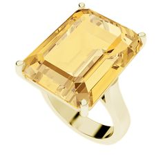 An emerald cut cocktail gemstone ring measuring 13mm wide by 18mm long. Choose from amethyst, emerald, ruby, blue topaz, onyx, pink sapphire, citrine, smoky quartz and others to accessorise perfectly!