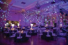 Wedding uplighting and room wash