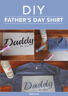 The Father's Day gift kids can DIY for Dad to wear all year long.