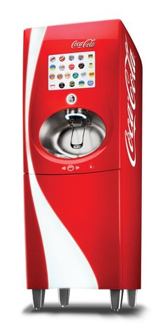 New Coke Freestyle Machine - 106 different flavors of Coca ...