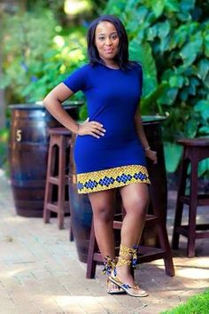 fr in love with this ethnic look - ~African fashion, Ankara, kitenge… African Dresses For Women, African Print Dresses, African Attire, African Wear, African Fashion Dresses, African Women, African Prints, Ankara Fashion, African Style