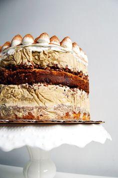 tiramisu crunch ice cream cake