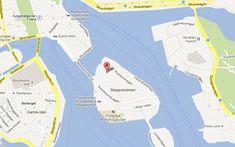 Karta till Östasiatiska museet