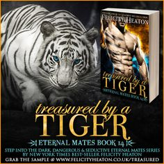 Despised by his tiger shifter pride as an abomination, Grey has ventured deep into the bowels of Hell in search of answers about the machinations of Archangel. With no knowledge of the realm, he quickly finds himself at a dead end—until he crosses paths with a beautiful hellcat female who rouses his darkest most dangerous instincts. TREASURED BY A TIGER, Eternal Mates book 14, is available now. Plus, win $150 in Amazon GC! Ends Sept 24 LINKS & GIVEAWAY: http://bit.ly/trsdtiger