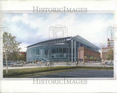 Artist rendering of Van Andel Arena - 1994