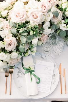A stunning corner of our sweetheart table. The gorgeous flowers are from 🌸 Peach Wedding Colors, Floral Wedding, Wedding Flowers, Garden Wedding, Wedding Table, Floral Style, Floral Design, Jenn Im, Calamigos Ranch