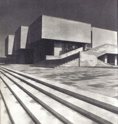 Lithuania, Vilnius, Museum of Revolution of the Lithuanian SSRArchitects: G.Baravykas V.Vielius
