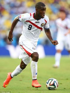 FIFA World Cup 2014 - Joel Campbell scores and assists in Costa Rica's 3-1 win over Uruguay in the 2014 World Cup