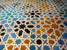 Nice tile pattern...