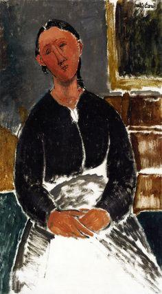 The Athenaeum - La Fantesca (Amedeo Modigliani - )