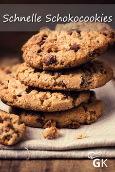 Oatmeal Cookie Recipes, Oatmeal Cookies, No Bake Cookies, Delicious Chocolate, Vegetarian Chocolate, Cookie Fit, Cookie Delivery, Almond Flour Recipes, Best Chocolate Chip Cookie