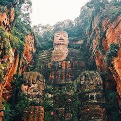 FB Earthables  · Leshang Giant Buddha, Sichuan, China.  : @felecool