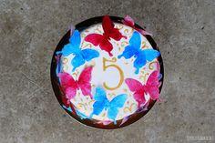 Sekrety Cookietki: Tort z motylami