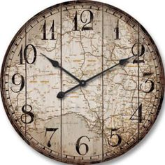 World clock world market a clock and a map brilliant i love industrial style wall clock black and grey google search gumiabroncs Image collections