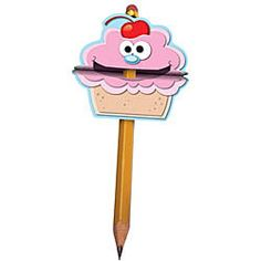 TCH1265 - Cupcake Pencil Toppers