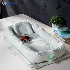 07844815d6 Plegable cama portátil cama de los niños de algodón de alta calidad suave  del bebé Recién