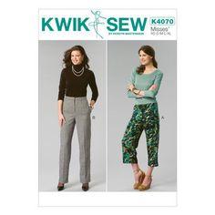 Mccall Pattern K4070 All Sizes -Kwik Sew Pattern