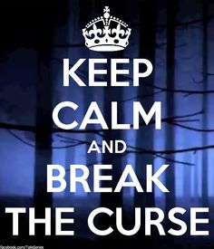 Break the curse... LOVE THIS SHOW