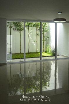 Best Ideas For House Garden Interior Patio Home Garden Design, Backyard Garden Design, Interior Garden, Home Room Design, Home Interior Design, Home And Garden, House Design, Interior Exterior, Indoor Courtyard