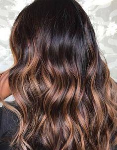 Ombré hair caramel