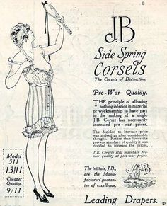 Pre War Quality Corsets