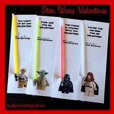 kraf*T*y mama: Easy Star Wars Valentines