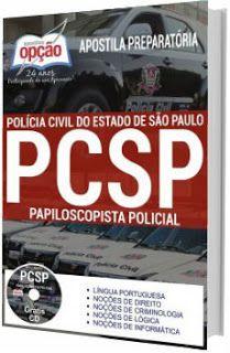 Apostila Concurso Pc Sp 2018 Papiloscopista Policial Concurso Pc Sp