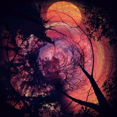 Planet Sun, Mobile Art, Pretty Images, Amazing Sunsets, Night Skies, Sky Night, Fantasy World, Art Music, Aesthetic Pictures