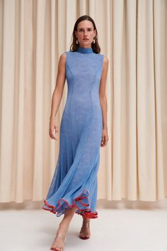 Apr 2020 - The complete Galvan Spring 2020 Ready-to-Wear fashion show now on Vogue Runway. Vogue Fashion, Fashion Week, Fashion 2020, Runway Fashion, Couture Mode, Style Couture, Couture Fashion, Casual Dresses, Summer Dresses