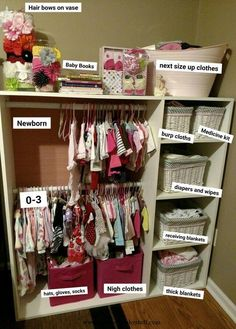 Baby Accessories Baby Accessories How to organize new born baby stuff in a on...