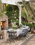 faux chandeliers for an outdoor wedding - Bing Images