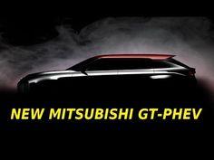 Mobil Baru Mitsubishi : 2017 Mitsubishi GT-PHEV Concept SUV aka New Outlander