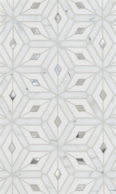 Montreal Petite Water Jet Mosaic by Mosaïque Surface Floor Patterns, Tile Patterns, Textures Patterns, Floor Design, Tile Design, House Design, Classic Decor, Bathroom Inspiration, Bathroom Ideas